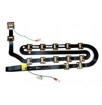 "Ribbon cable  50 SKT Dual Row FFSD 36"" (60307190W)"
