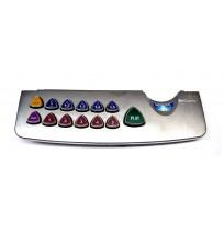 Aristocrat Viridian Button Panel